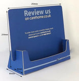 A5 Slot-In Landscape Leaflet Dispenser PREMIUM - Cardworks Ltd