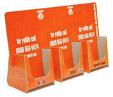 DL 3-Bay Leaflet Dispenser - Cardworks Ltd