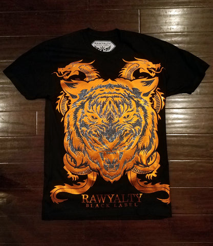 Lion Dragon Crew Neck