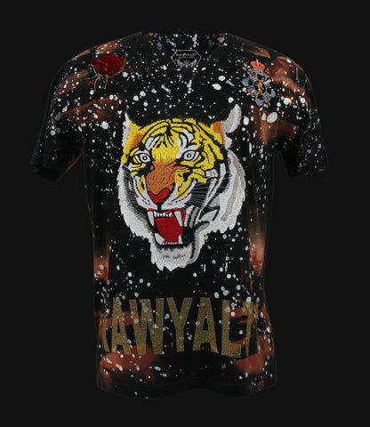 Patch Tiger Vneck
