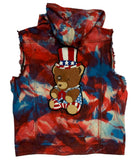 USA Teddy Patch Vest