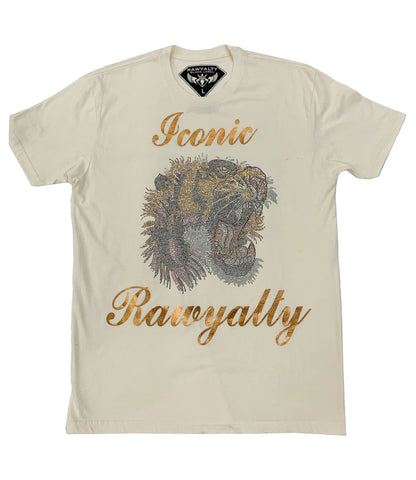 Iconic Tiger Bling Crew Neck