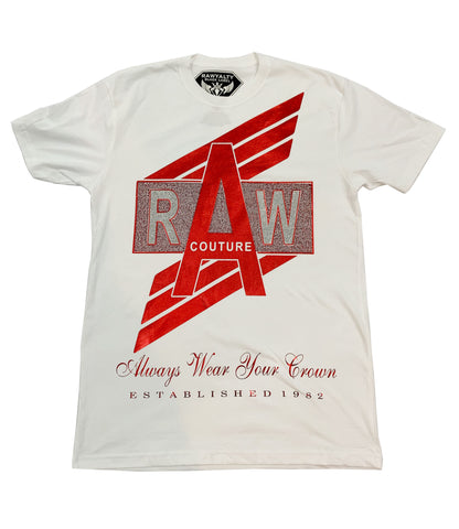 RAW Couture Bling Crew Neck