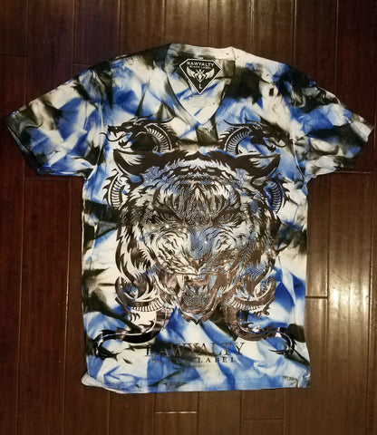 Lion Dragon Vneck