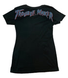 Trouble Maker Bling Lady Vneck