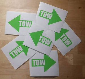 Tow Sticker - Drift
