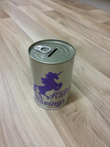 Personalised Money Tin