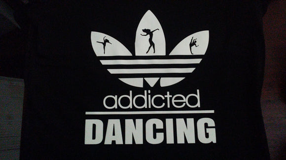 Addicted - Dancing - Tee