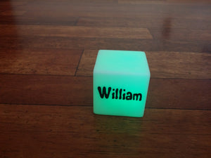 Personalised Colour Changing LED light