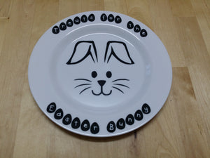 Easter Bunny Plate - Treats for the Easter Bunny