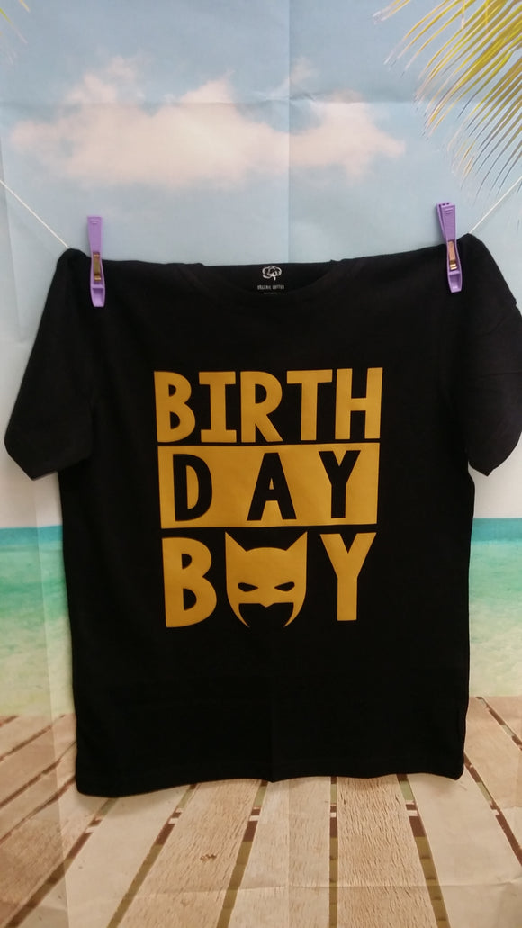 Batman birthday boy Tee / Bodysuit
