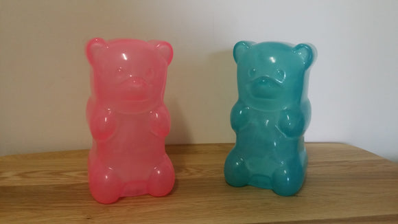 Personalised Gummy Bear shaped Glowing Night Light