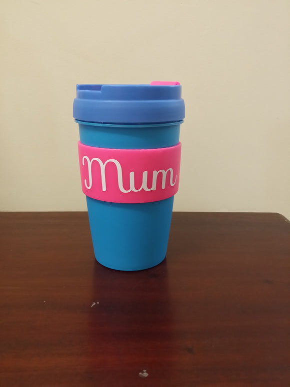Personalised travel coffee mug cup