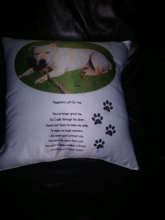 In memory of your pet cushion / Pillow