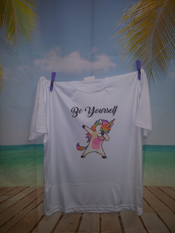Children's Dabbing Unicorn T-Shirt