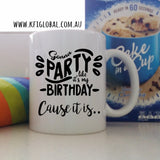 Birthday Mug and Cake Set