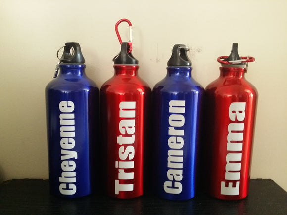 Personalised Aluminium Drink Bottle