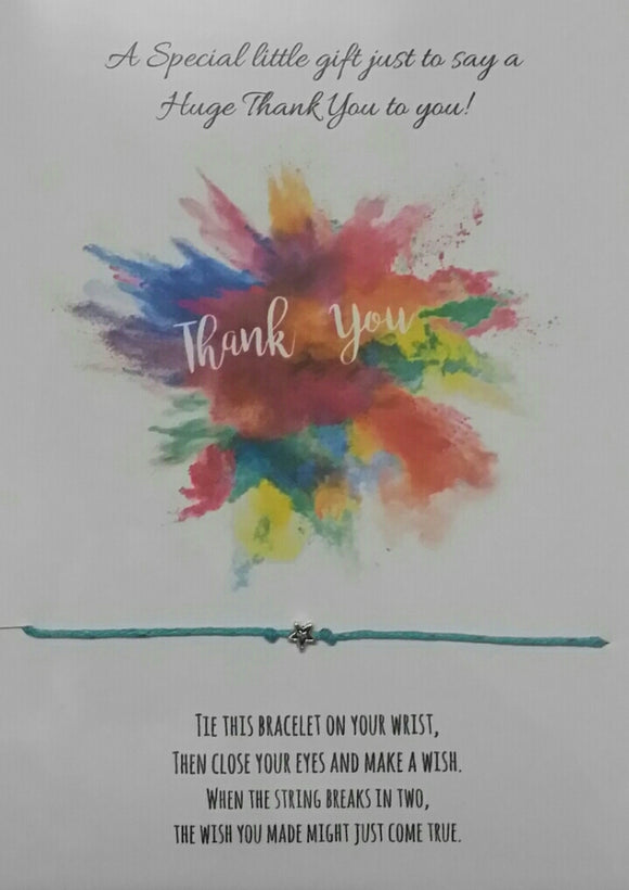 Thank you - Wish Bracelet