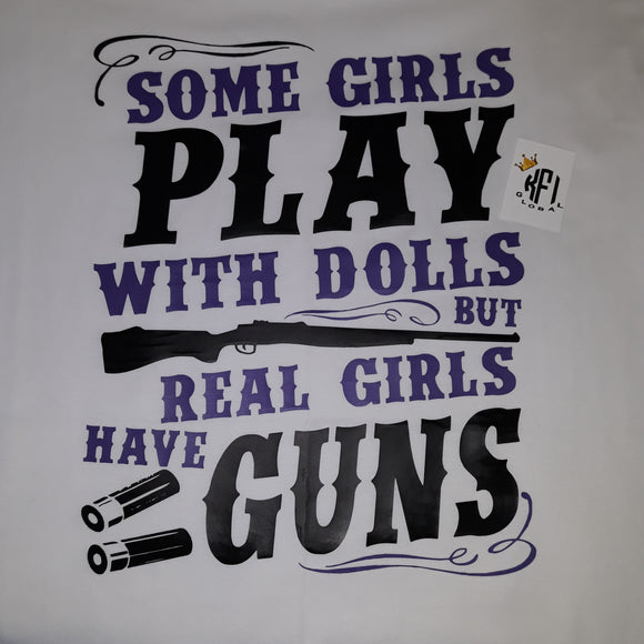 Real girls have guns Design