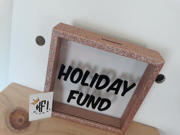 Personalised Money Box Shadow Box Frames