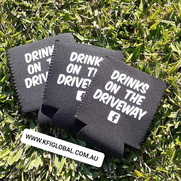 Drinks on the driveway Stubby holder - fold-able
