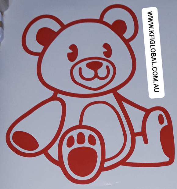 Teddy Bear Sticker - We're going on a bear hunt