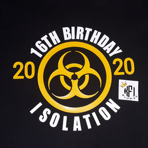 Birthday Isolation design - All ages