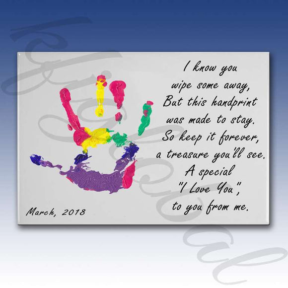 Treasure hand print Design