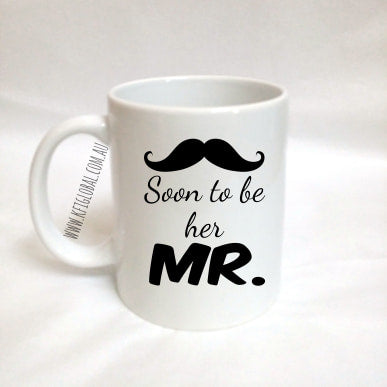 Soon to be her Mr. Mug Design