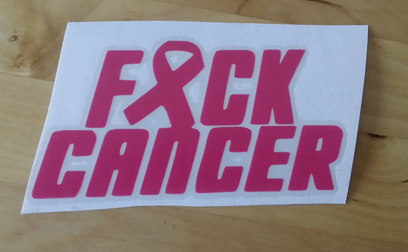 Fuck Cancer Sticker