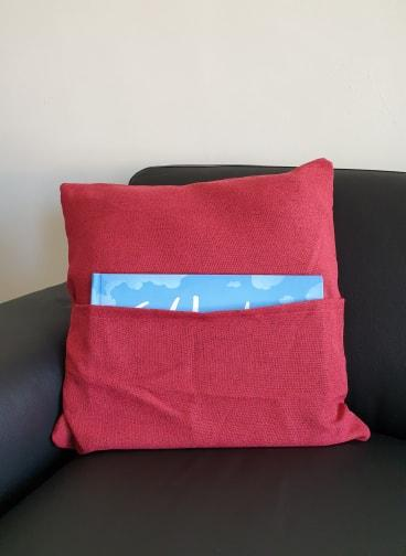 Reading Book Holder Cushion - Pillow