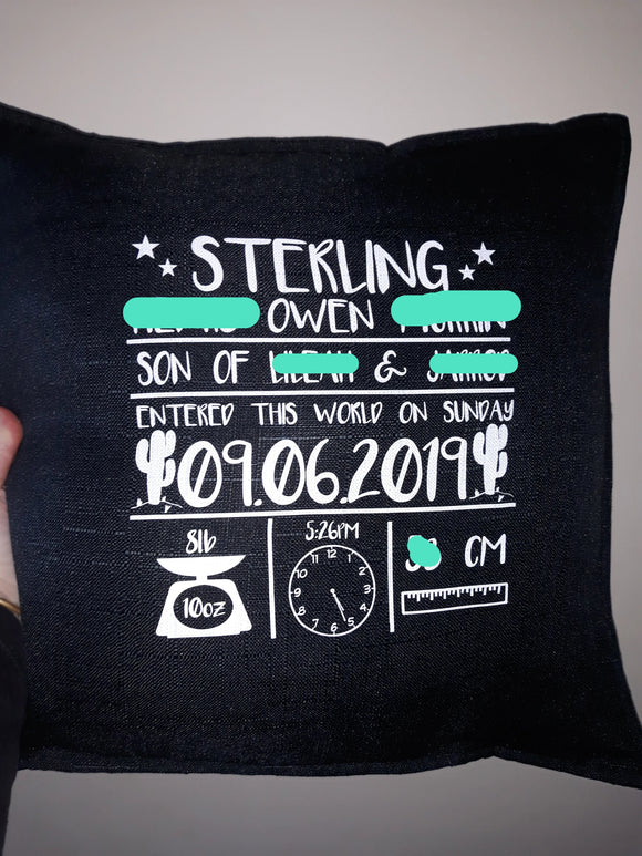 Custom cushion - Pillow