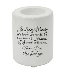 Remembrance Candle holder