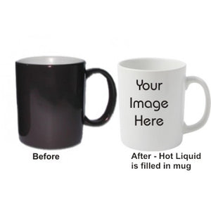 Custom Colour Changing Mug - Hot to cold mug