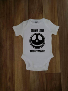 Daddy's little nightmare Tee / Bodysuit