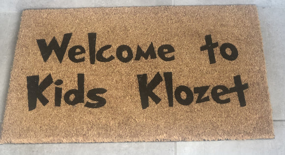 Custom Business Doormat - Doormats R Us
