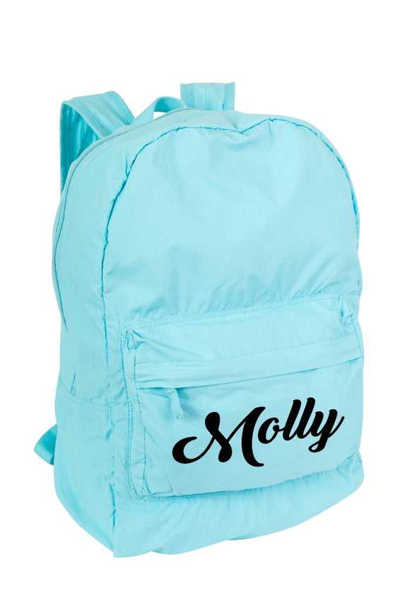 Personalised Backpack / School Bag