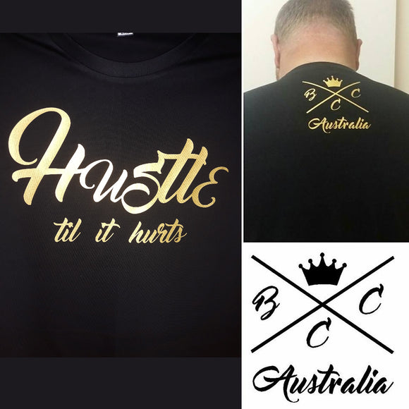Hustle til it hurts BCCA Design