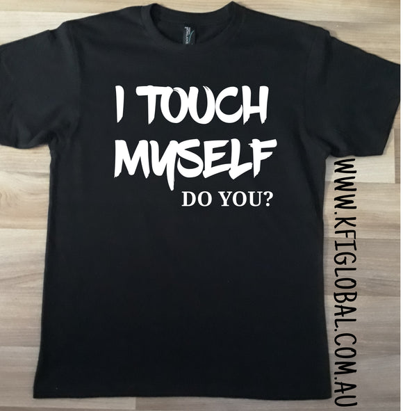 I touch myself Design - cancer awareness