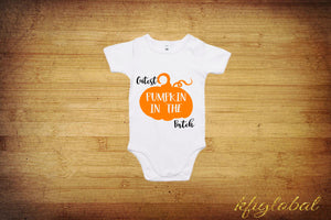 Cutest Pumpkin in the Patch - Halloween outfit