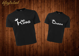 King and Queen Couples Shirt