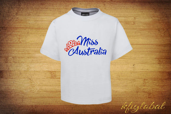 Miss Australia Tee - Childrens