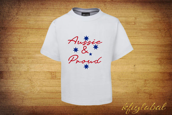 Aussie & Proud T-Shirt - Adults