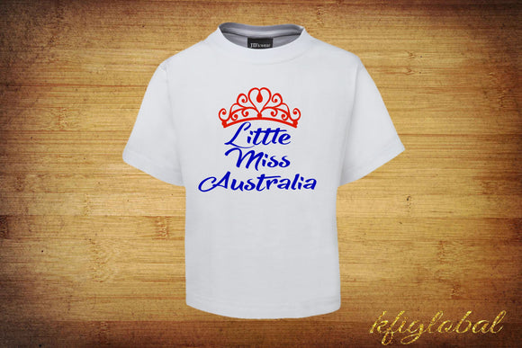 Little Miss Australia Tee - Childrens