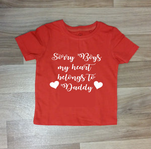 Sorry Boys Tee - Childrens