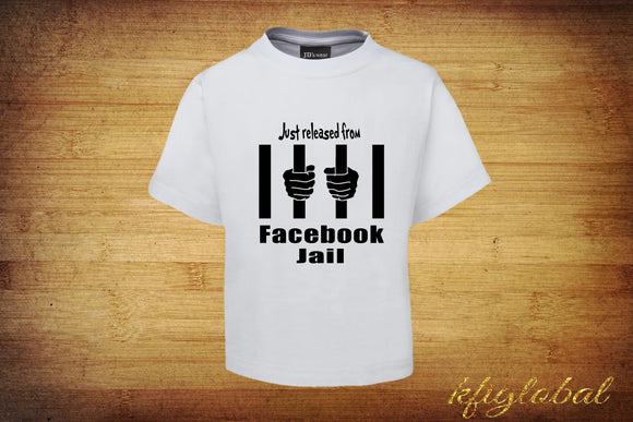 Just released from facebook jail Short Sleeve T-Shirt