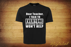 Dear Teacher Tee