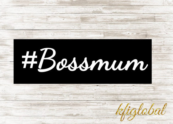 #Bossmum Sticker