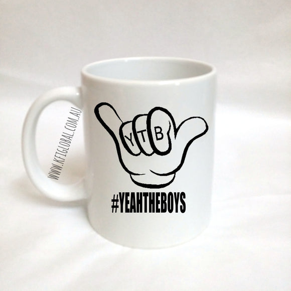 Yeah The Boys Design Mug