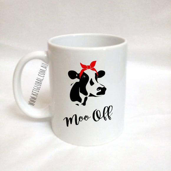 Moo Off Mug Design